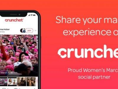 Women's March embraces collaborative social app Crunchet