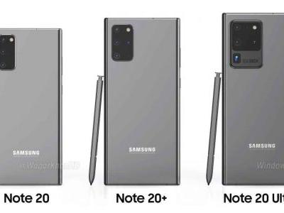 Galaxy Note 20 Design Envisioned In Concept Renders