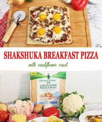 Breakfast Pizza: Shashuka Pizza
