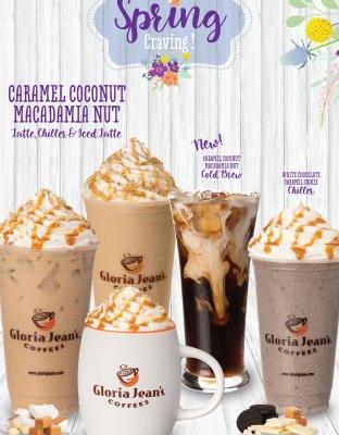 Tropical Flavors Star in Gloria Jean's Coffees' New Spring Menu