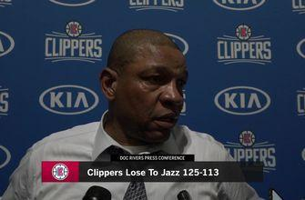 Clippers 113, Jazz 125