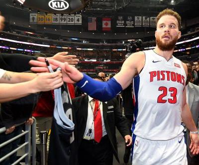 Blake Griffin pours in 44 to lead Pistons in return vs. Clippers