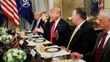Trump Kicks Off NATO Summit With Breakfast Rant: 'Germany Is A Captive Of Russia'