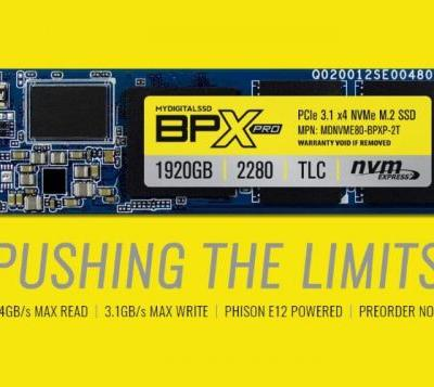 MyDigitalSSD BPX Pro PCIe SSD 1TB Unveiled For $280