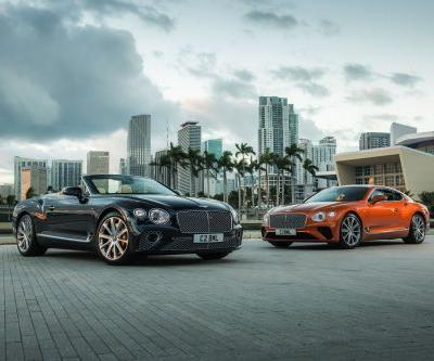 New Bentley Continental GT and GT Convertible V8 Packs 542 HP
