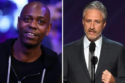 Jon Stewart Stopped By Dave Chappelle's Live NYC Show To Take On Trump's Charlottesville Response