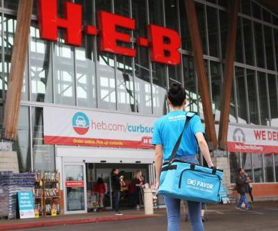 Texas Grocer H-E-B Buys Delivery App Favor in Bid for Tech Growth
