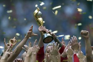 FIFA's record finances reignites World Cup pay parity debate
