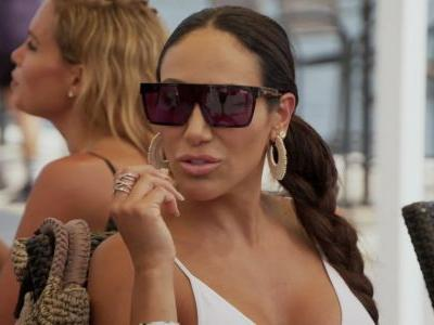 """Melissa Gorga Dismisses Kim DePaola's Claim That Luis Ruelas Has A History Of Cheating And Left His Girlfriend For Teresa Giudice; Melissa Says """"I Listen To Nothing Kim D. Says"""""""