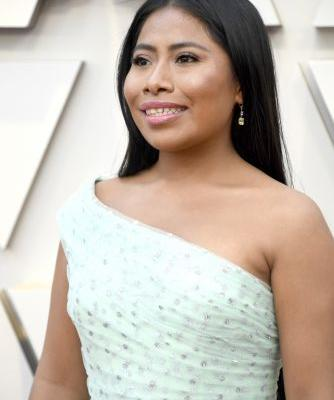 Yalitza Aparicio's 2019 Oscars Dress Is the Only Color I Want To Wear In 2019