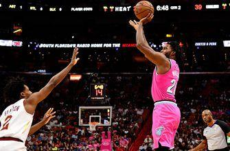 Justise Winslow, Bam Adebayo take over in Miami's 118-94 win over Cleveland