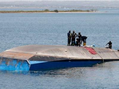 Survivor Rescued From Inside Capsized Tanzanian Ferry