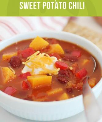 Crockpot Sweet Potato Chili