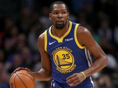 Kevin Durant injury update: Warriors star 'not close' to returning, report says