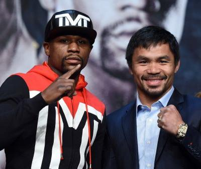 Floyd Mayweather and Manny Pacquiao stun fight fans by announcing a rematch on Instagram and Twitter