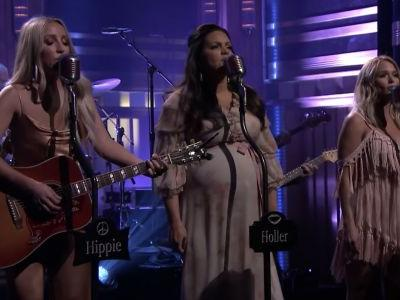 Watch Pistol Annies Perform On Fallon