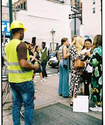 Yu Fujiwara captures the hustle and bustle of NYFW