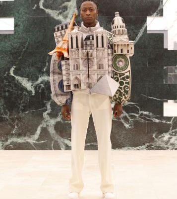 Wearable cities are hot for AW21 at Louis Vuitton