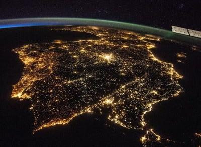 Help tackle light pollution by identifying photos of cities taken from the ISS