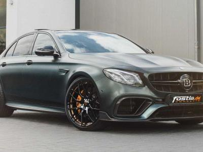 Mercedes-AMG E63 By Brabus Is A 1,000 Nm Beast
