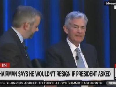 Watch Fed Chairman Jerome Powell's Icy Reply to Question About Whether He'd Resign if Trump Asked: 'No'