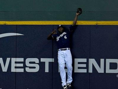 MLB postseason 2018: Brewers' Lorenzo Cain robs David Freese of home run in Game 2