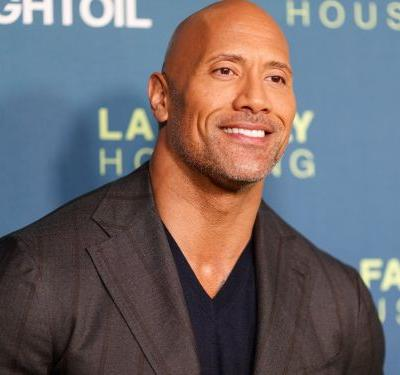 The Rock was the highest-paid actor in the history of Forbes' Celebrity 100 for this year's list at $124 million