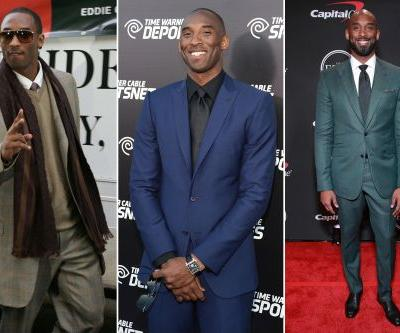 Kobe Bryant's best style moments through the years