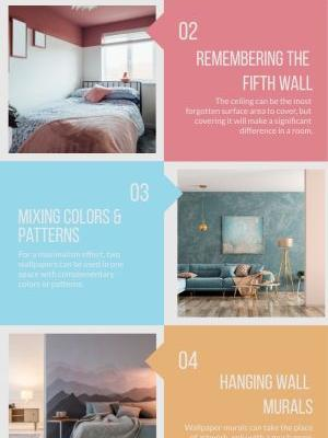 Unique Ways to Make Wallpaper the Star of Your Home