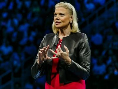 CEO Ginni Rometty says IBM will be the first-place winner in a new trillion-dollar cloud market - and she might be right
