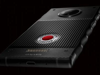 Red's weird-looking Hydrogen phone gets its first official photos