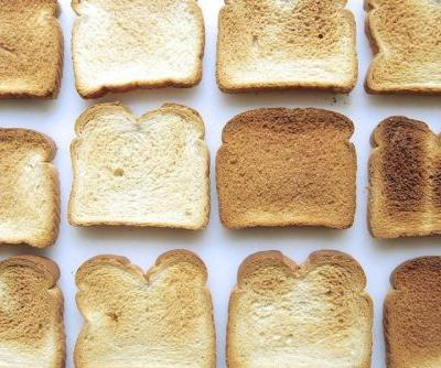 Identifying oven hot spots: the toast test