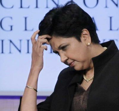 Pepsi's Indra Nooyi is the latest in a dwindling number of female Fortune 500 CEOs to step down