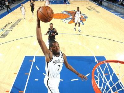 Nets handle Knicks without James Harden, Kyrie Irving