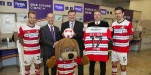 Doncaster Sheffield Airport Kicks Off New Rovers partnership
