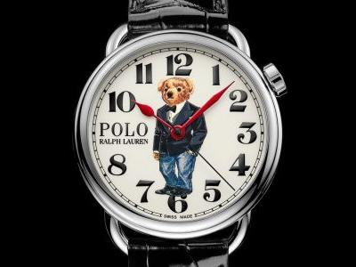 Ralph Lauren's 50th anniversary Polo Bear watch is the preppy accessory you need