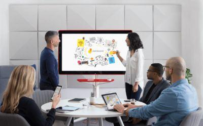 Google unveils Jamboard, a 55-inch, 4K digital whiteboard launching 2017 for under $6,000