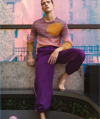 Alexandre Cunha Models Chic Fashions for Glass Men Cover Shoot