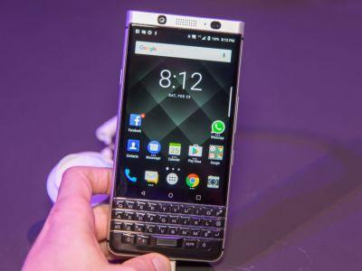 BlackBerry KeyOne Hands On-BlackBerry wants $549 for mid-range device