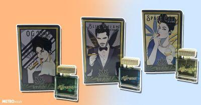 There's a snazzy new perfume range that makes you smell like weed