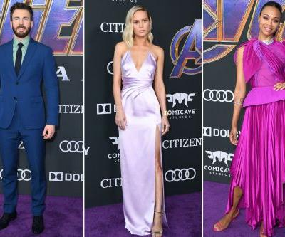 The best looks from the 'Avengers: Endgame' premiere red carpet