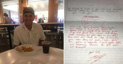 This guy received a letter of apology from his ex which he then graded and sent back