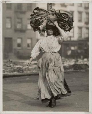 First Work in America by Lewis W. Hine, 1911