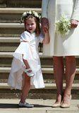 These Adorable Pictures of George and Charlotte at the Royal Wedding Will Make You Melt