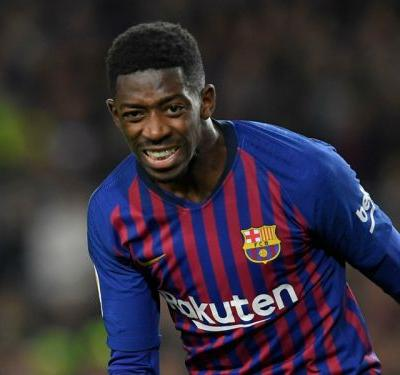 Dreamy Dembele is a Barcelona menace alongside Messi and Pique