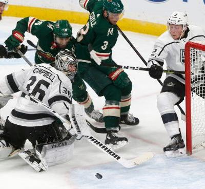 Fehr, Brodin get first goals of season; Wild beat Kings 4-1
