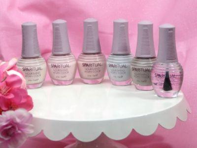 SpaRitual Nourishing Vegan Nail Color 'Inhale Collection' for Spring 2017 Review, Photos, Swatches
