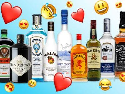 Drinkmojis: 11 Iconic Spirits in Emoji Form