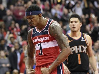 Beal gets 1st triple-double, Wizards beat Suns 149-146, 3OT