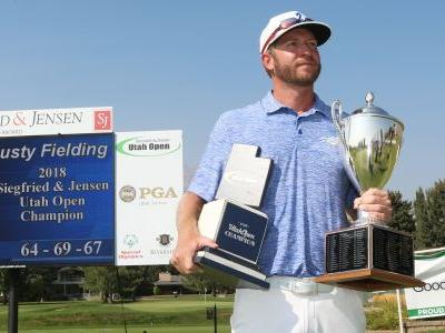 Former Dixie State golfer shoots 5-under to clinch 2018 Utah Open championship